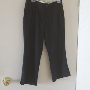 Nwot Banana Republic pinstripe martin crop pants